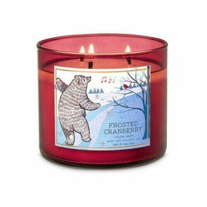 Bath & Body Works Frosted Cranberry Candle